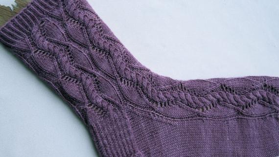 Stricken Socken Muster: Platons Lieblings Socken stricken   Etsy