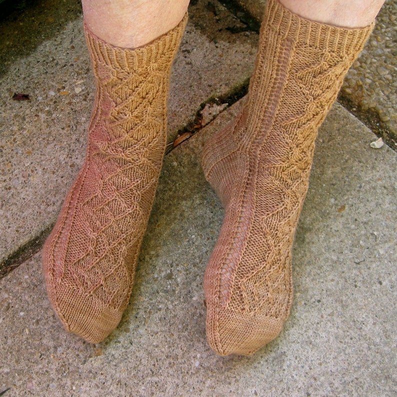 464b282d6e62 Knit Sock Pattern  Madam Curie s Favorite Socks Knitting