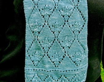 Knit Scarf Pattern:  Navitrolla's Favorite Estonian Scarf Knitting Pattern