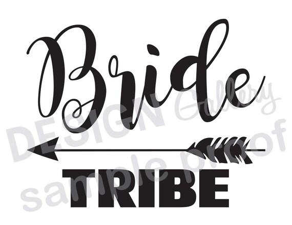 bride tribe arrow jpg image svg dxf cut printable etsy