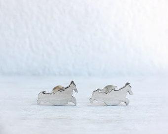 Russia Earrings, Silver Map Earrings, Russia Studs, Silver Russia Map, Silver Earrings Moscow, Custom Jewelry, Personalized Earrings
