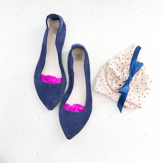 de pointuesBallerines Chaussures bleuChaussures mariée pointuesChaussures D' OrsayBallerines pointuesChaussures bout pointuBallerines xerdCBo