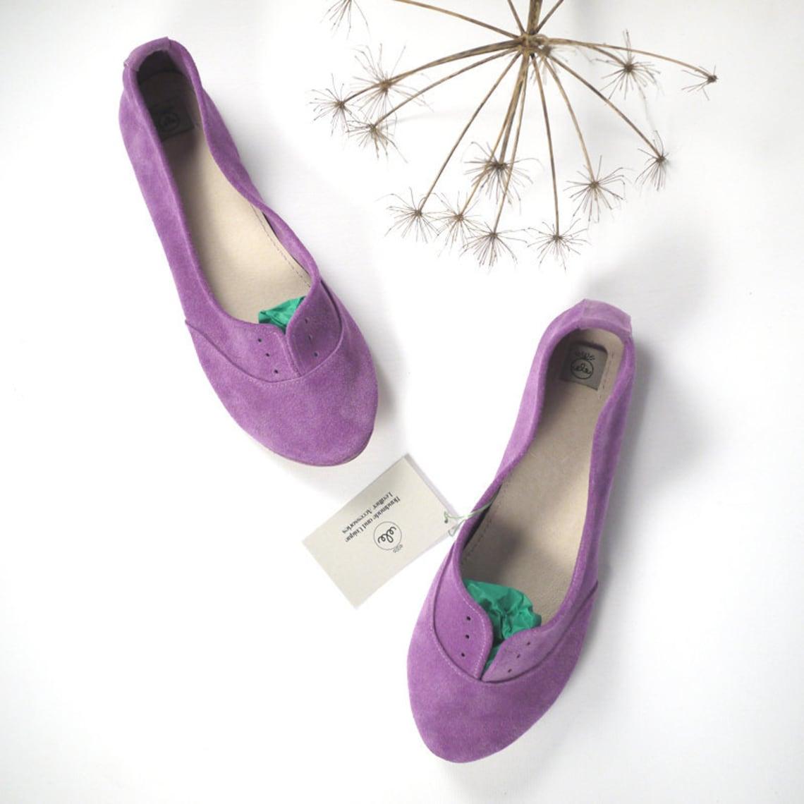 Zapatos Oxfords. Oxfords de cuero para mujer. Zapatos Oxfords de cuero. Planos de cuero lila. Encaje Shoes.Gift para su.marido a esposa.Brogues italianos