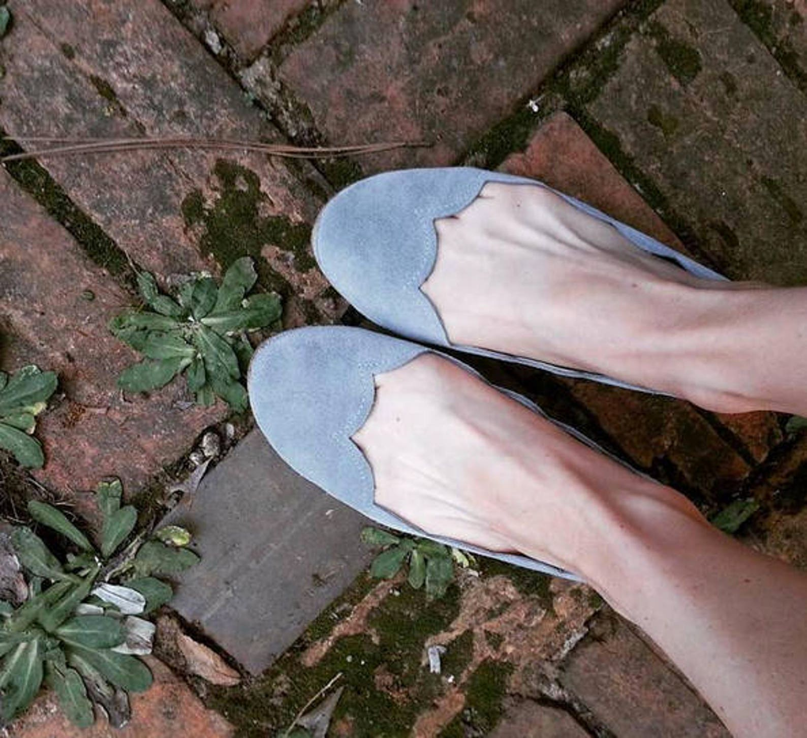 ballet flats shoes. leather shoes. handmade shoes. bridal low heel shoe. serenity wedding shoes. bridesmaids gift. scalloped fla