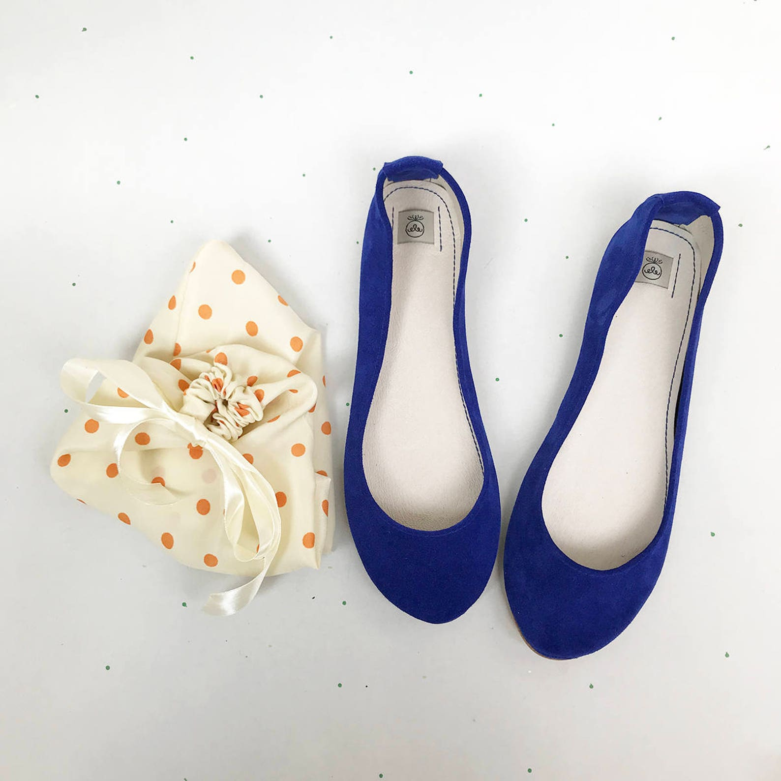 leather ballet flats. bridal shoes. women shoes. low heel wedding shoes. blue flats. italian leather shoe. bridal gift. bridesma