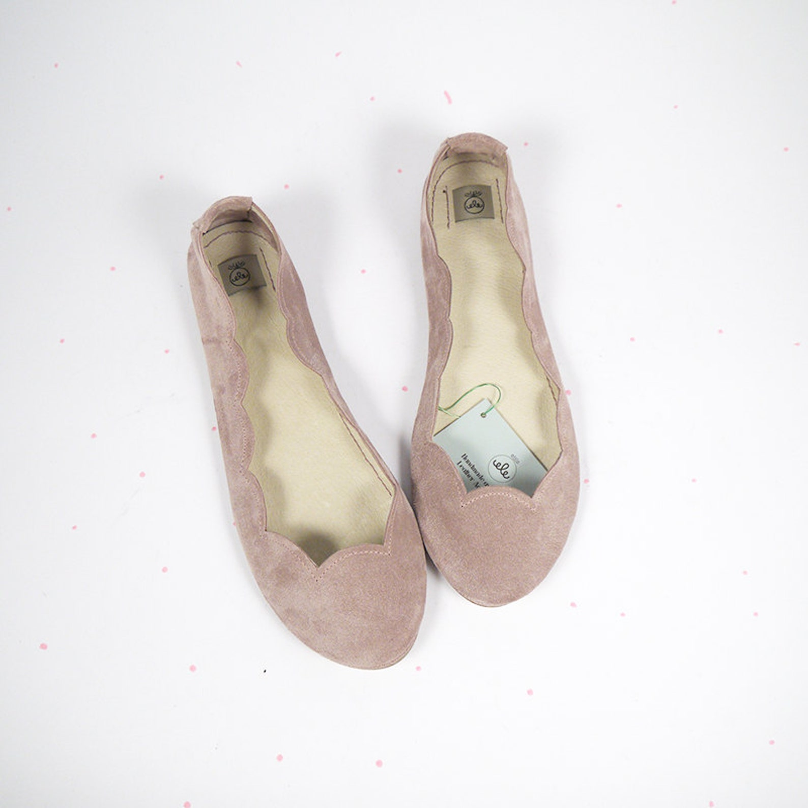 ballet flats shoes. bridal shoes. wedding ballet flats. rose smoke shoes. rose gold wedding. low heel shoes. brautschuhe. chauss