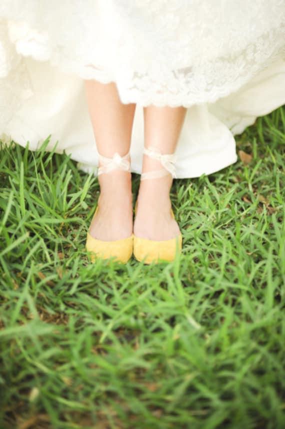 d923a7f84cb1 Bridal Shoes. Wedding Shoes. Bride Ballet Flats. Low Heel