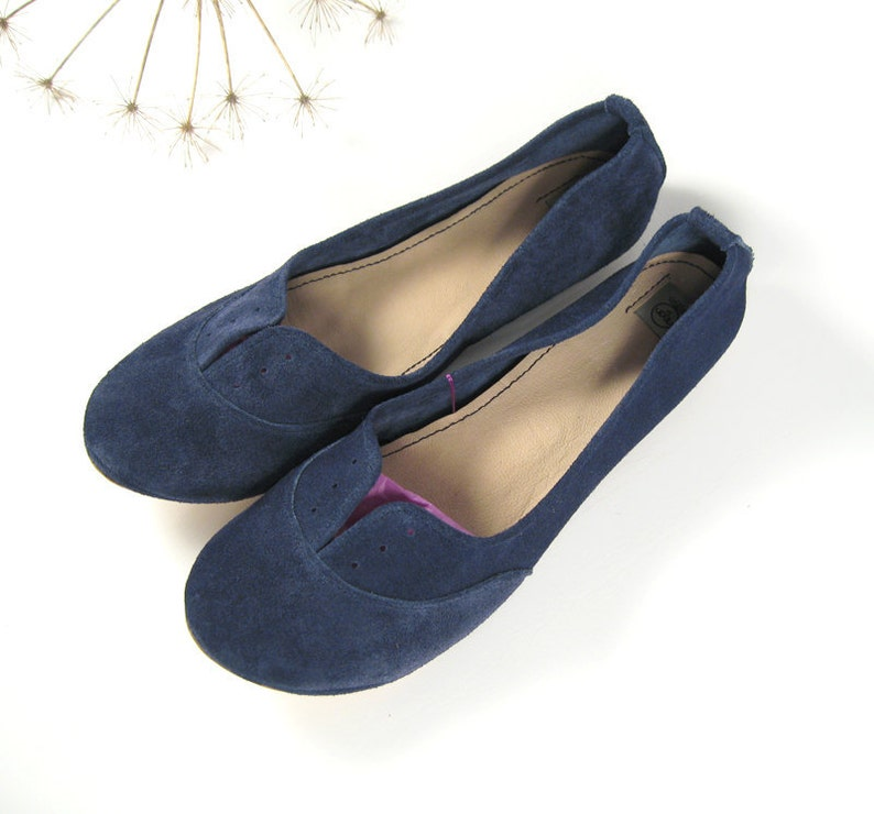 Comfortable Leather Shoes Oxfords Shoes Low Heel Shoes Blue Leather Flats Women Leather Oxfords Leather Oxfords Shoes Lace up Shoes