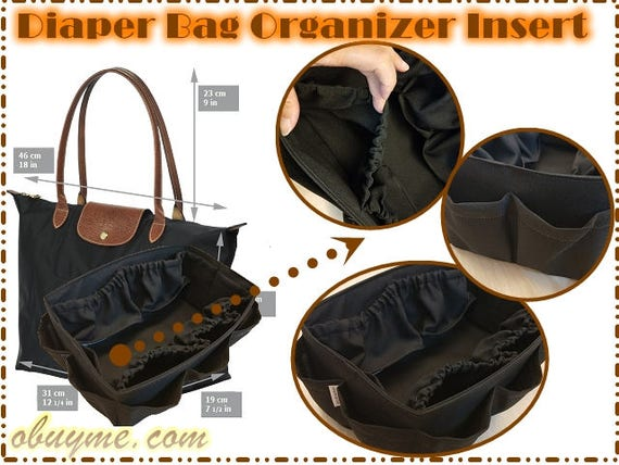 Pannolini Le Inserto Pliage Etsy Bag Longchamp Per Large Borsa qwIaC5xI