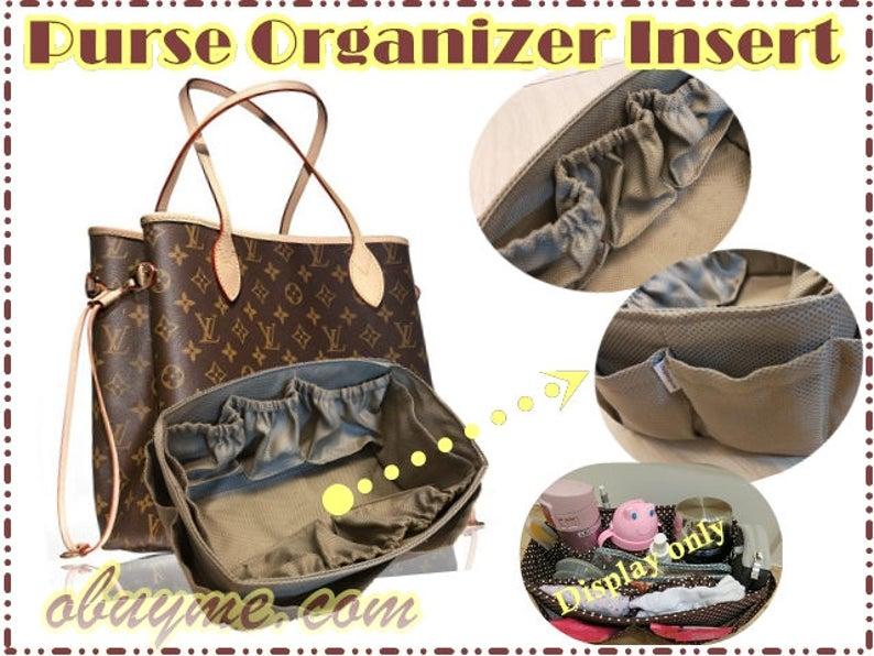 Holiday gift Diaper Bag Organizer Insert For LV Neverfull GM  e433c3fe60083