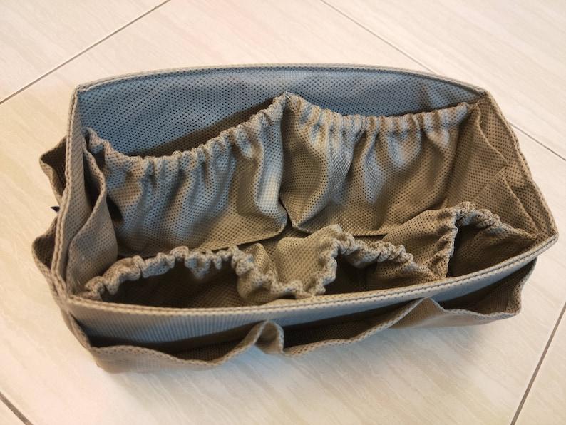 Diaper BAG ORGANIZER insert  Extra Sturdy  Khaki  Large 30x12cm