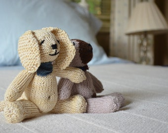 Finn, sweet vanilla puppy/soft toy/newborn gift