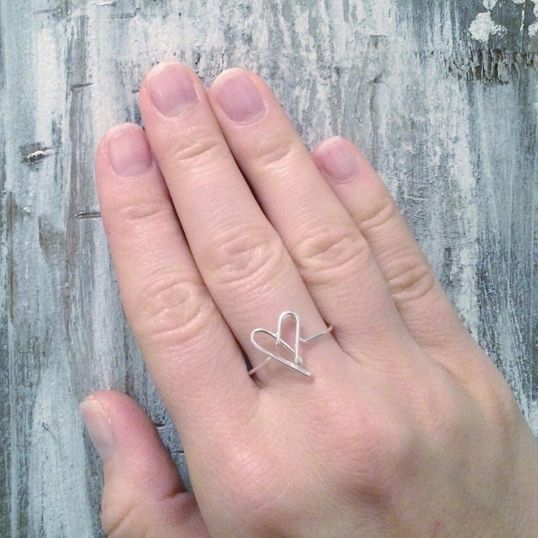 Lovatic Heart ring | Etsy