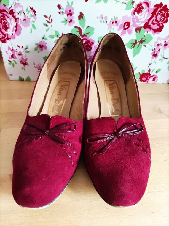 Rare Trudy Vintage Van Dal heeled shoes like 1930… - image 2