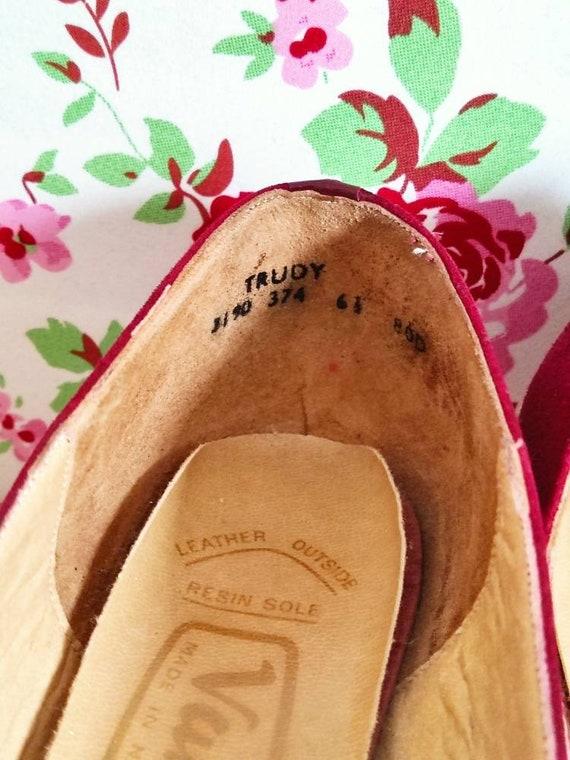Rare Trudy Vintage Van Dal heeled shoes like 1930… - image 6