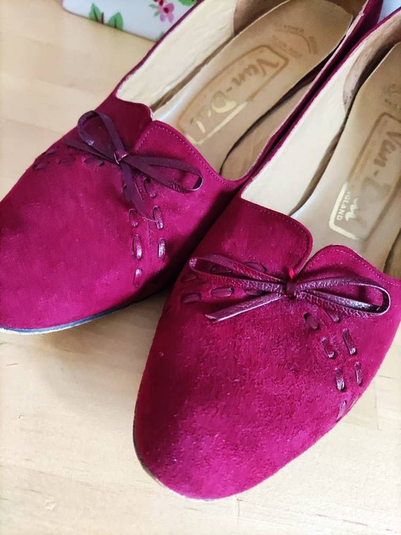 Rare Trudy Vintage Van Dal heeled shoes like 1930… - image 3