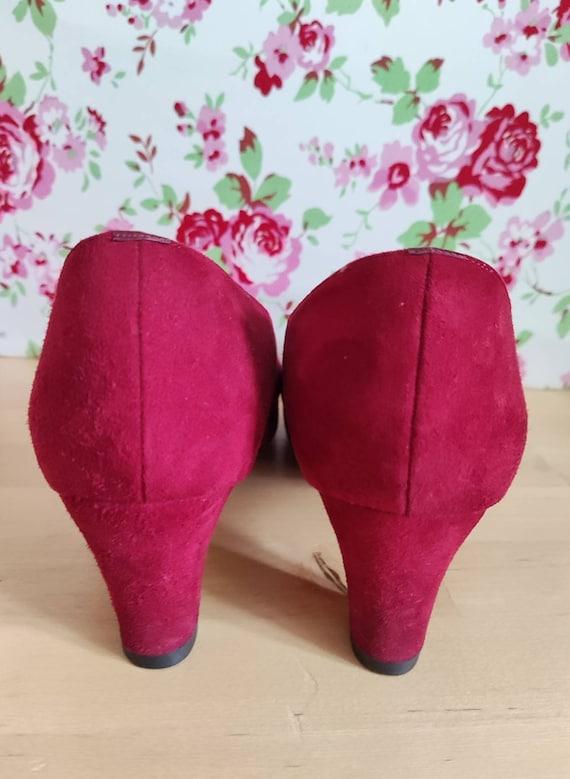 Rare Trudy Vintage Van Dal heeled shoes like 1930… - image 4