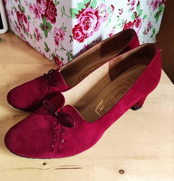 Rare Trudy Vintage Van Dal heeled shoes like 1930… - image 1