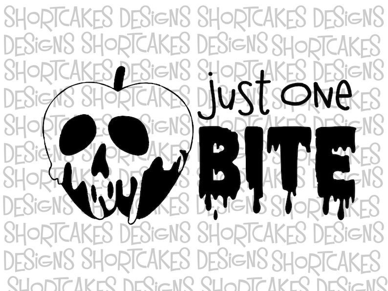 Digital Download Just One Bite Poison Apple image 0