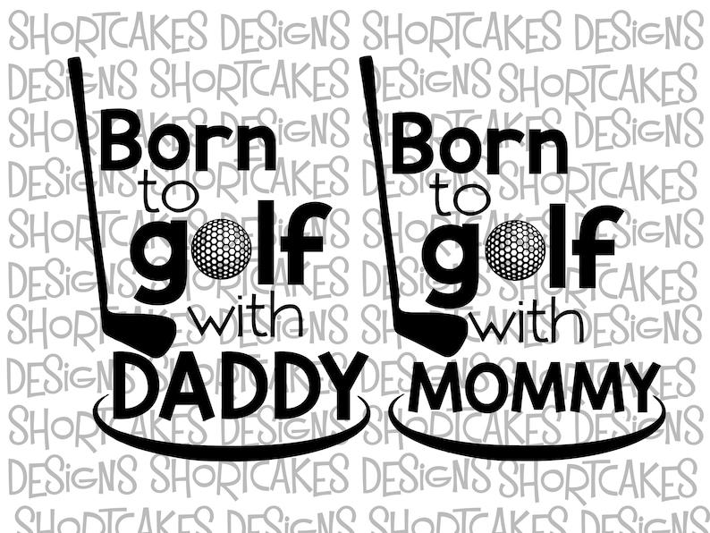 Born To Golf Digital Download Svg/Png/Jpeg/PDF image 0