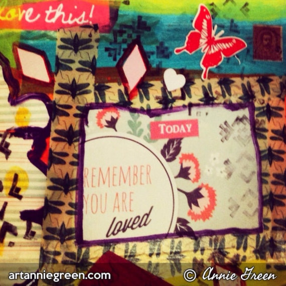 Mixed Media: YOU Are Loved