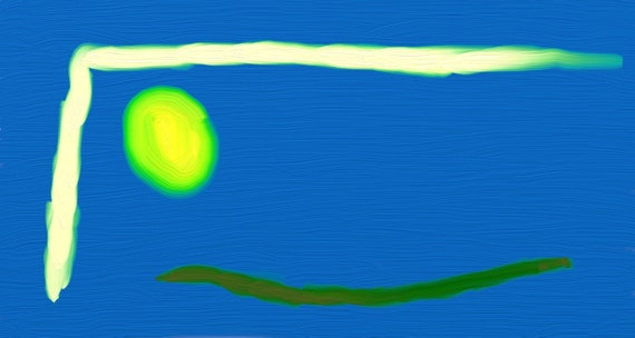 Abstract Art.  Painting.