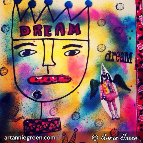 Mixed Media, Outsider Art:  Dreams