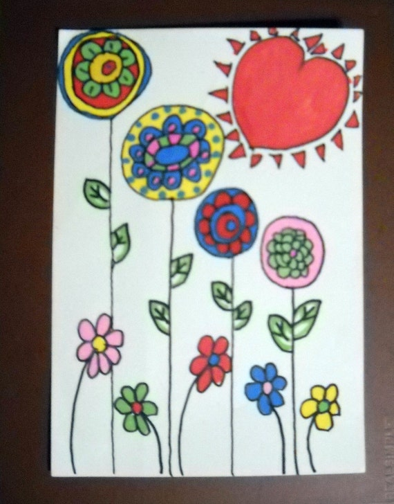 Nursery Art Flower Power