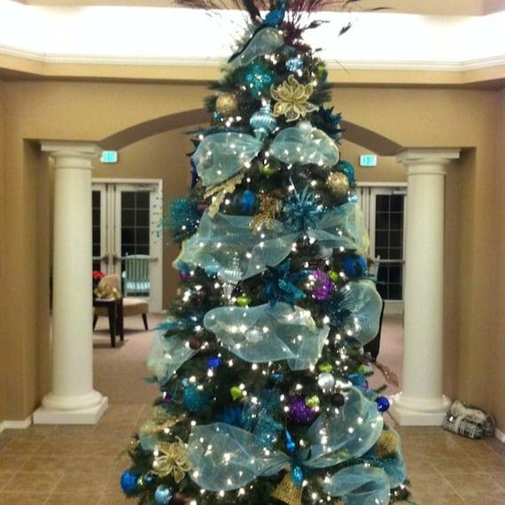 image 0 - Aqua Christmas Tree