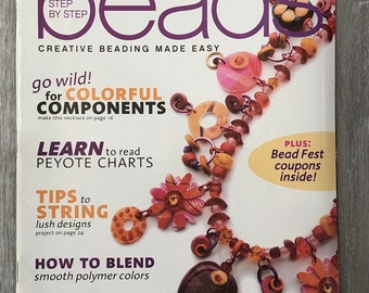 Step by Step Beads Magazine July-Aug 2008