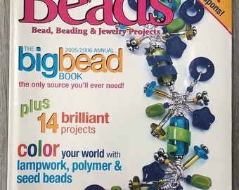 Step by Step Beads Magazine July - August 2005