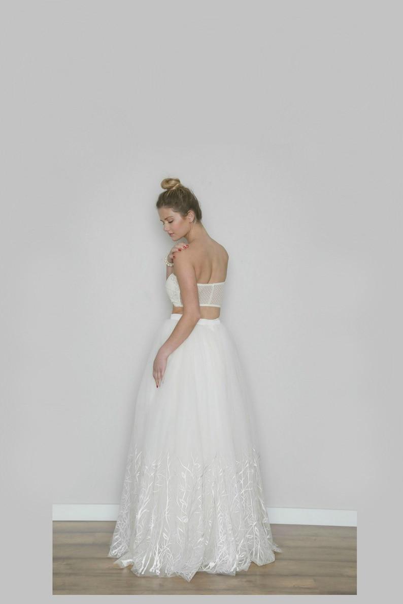 Tulle Wedding Skirt Winter Wedding Separates WILLOW Ivory  08550ad87