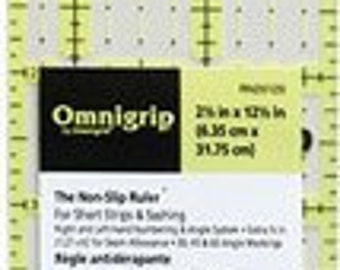 "Omnigrip Ruler 2.5"" x 12.5"" RN25125 Omnigrip"