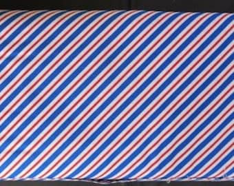 Pepe In Paris Airmail Blue - Riley Blake Fabric