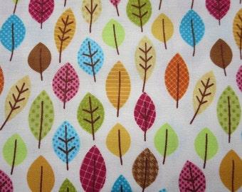 Riley Blake - Happy Harvest Leaves Fabric