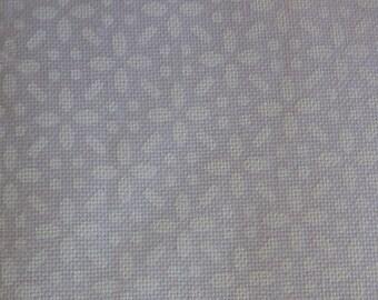 Riley Blake Daisy Tone On Tone White Fabric