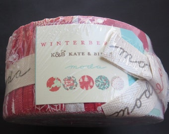 Moda-  Winterberry Jelly Roll - Kate And Birdie