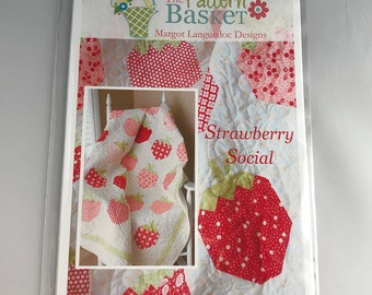 Strawberry Social - The Pattern Basket Margot Languedoc Designs TPB1316