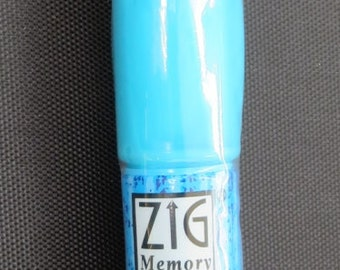 Zig 2 - way blue pen Squeeze and Roll