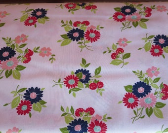 The Good Life Fabric  -  Bonnie Camille Floral Summer Natural - 5515119