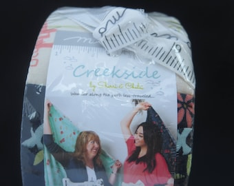 Creekside Jelly Roll - Sherri And Chelsi Of A Quilting Life - One Week Sale - Creekside