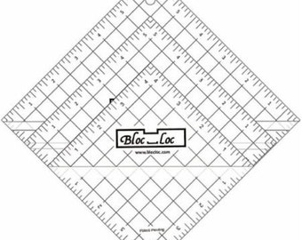 "Half Square Triangle Ruler Set 5 - Set includes: 4.5"", 5.5"", & 6.5"" rulers"