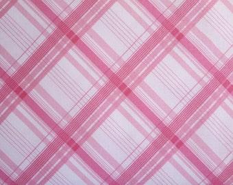 Riley Blake British Invasion Plaid Pink