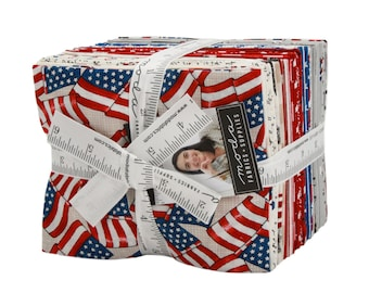 Deb Strain - Land That I Love Fat Quarter Bundle For Moda - One Remaining! - 28 Fat Quarters - 19880AB
