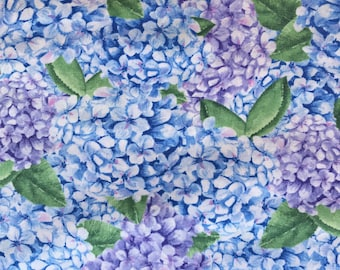 Henry Glass -  1504-11 Barb Tourtillotte - Coastal Paradise - Hydrangeas