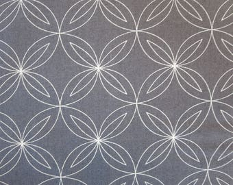 One Week Sale - 8.99  A Yard - Thrive - Natalia and Kathleen Of Piece N Quilt Outer Space Rind Grey 10902 17