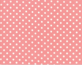 Little Snippets - Bonnie and Camille Fabric - 5518513 -   Dot Pink
