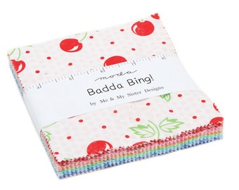 Badda Bing Charm Pack - Moda - Me and My Sister Designs - In Stock Now!