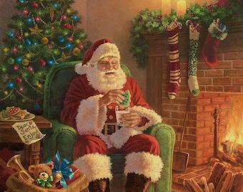 Riley Blake -  A Classic Christmas Milk & Cookies Panel-  P9540-MILK