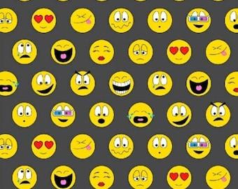 Windham Fabrics - Textme Back - Text Me Back Emoji  - 40471A X